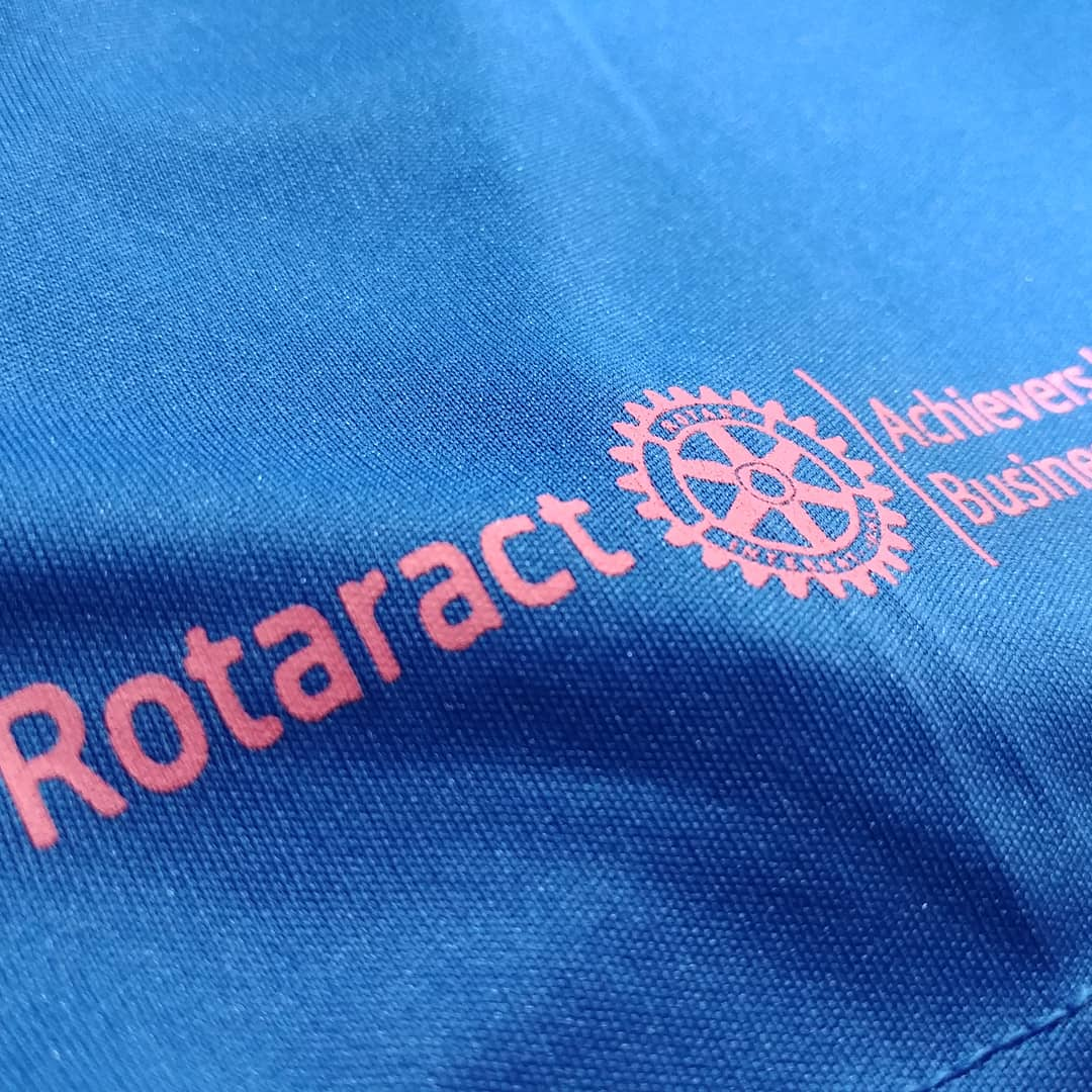 wet look best club and society t-shirt printing i Rotaract Club Conquer Colombo Sri Lanka